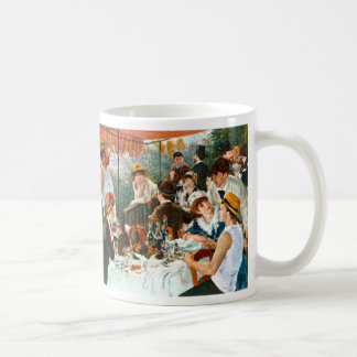 Luncheon of the Boating Party, Renoir Classic White Coffee Mug
