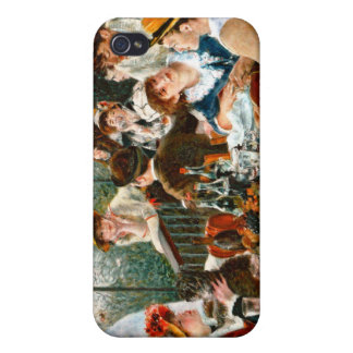 Luncheon of the Boating Party, Renoir iPhone 4 Case