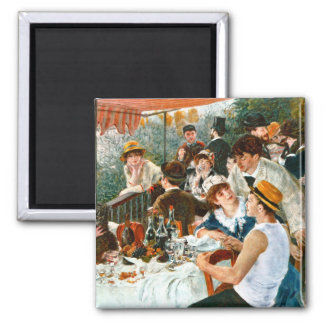 Luncheon of the Boating Party, Renoir Magnet
