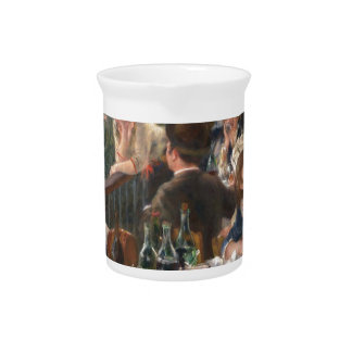 Luncheon of the Boating Party - Renoir Pitcher