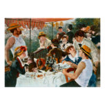 Luncheon of the Boating Party, Renoir Posters