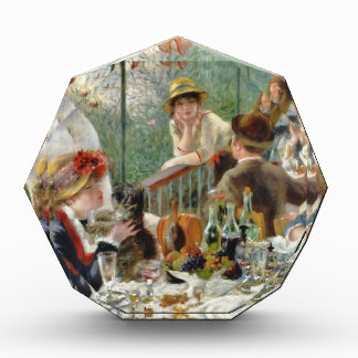 Luncheon of the Boating Party Vintage Renoir Acrylic Award