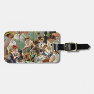 Luncheon of the Boating Party Vintage Renoir Bag Tag