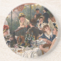 Luncheon of the Boating Party Vintage - Renoir Drink Coaster
