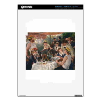 Luncheon of the Boating Party Vintage - Renoir iPad 3 Skins