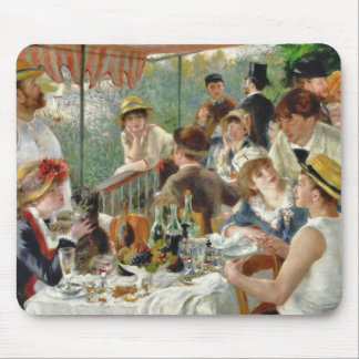 Luncheon of the Boating Party Vintage Renoir Mouse Pad