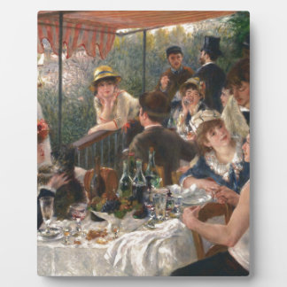 Luncheon of the Boating Party Vintage - Renoir Plaque