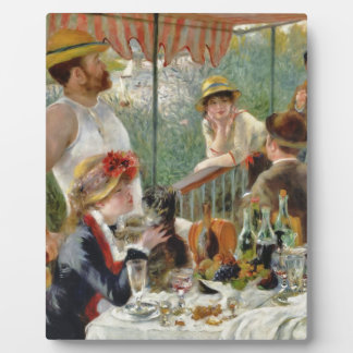 Luncheon of the Boating Party Vintage Renoir Plaque