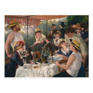 Luncheon of the Boating Party Vintage - Renoir Postcard