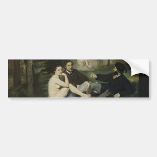 Luncheon on the Grass by Edouard Manet Bumper Sticker