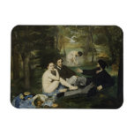 Luncheon on the Grass by Edouard Manet Vinyl Magnets