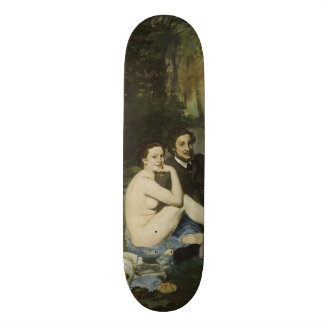 Luncheon on the Grass by Edouard Manet Skateboards