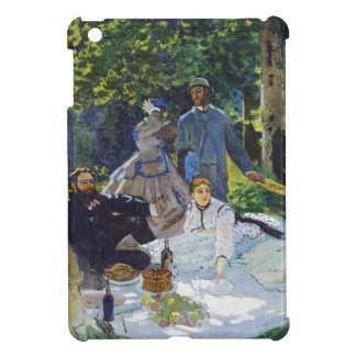 Luncheon on the Grass, Center Panel Claude Monet iPad Mini Cover