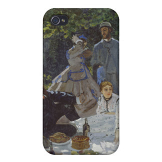 Luncheon on the Grass, Central panel, Claude Monet Covers For iPhone 4