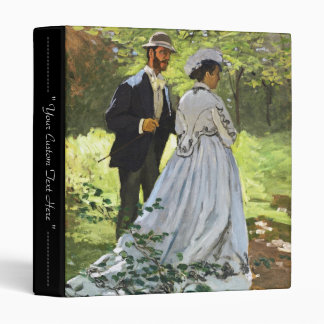 Luncheon on the Grass Claude Monet 3 Ring Binders