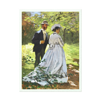 Luncheon on the Grass Claude Monet Canvas Print