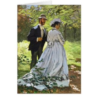 Luncheon on the Grass Claude Monet Card