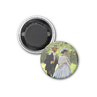 Luncheon on the Grass Claude Monet Magnets