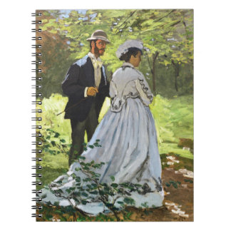 Luncheon on the Grass Claude Monet Notebook