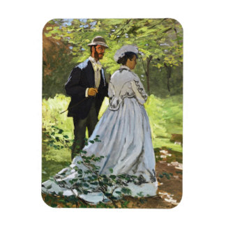 Luncheon on the Grass Claude Monet Flexible Magnets
