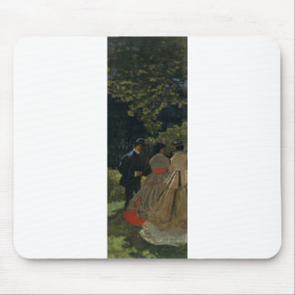 Luncheon on the Grass, Left Panel (1865) Mouse Pad