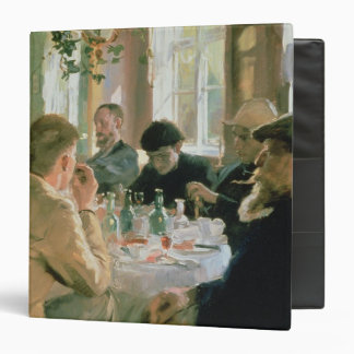 Lunchtime, 1883 3 ring binder