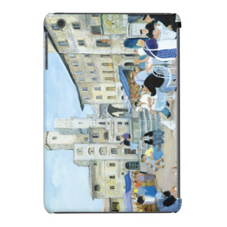 Lunchtime in a Market Square Tuscany iPad Mini Covers