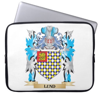 Lund Coat of Arms - Family Crest Laptop Sleeve