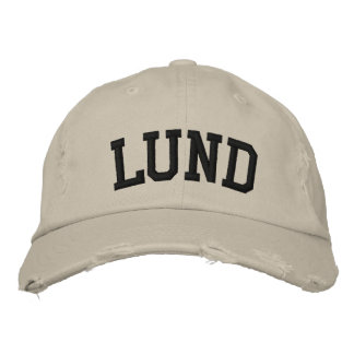 Lund Embroidered Hat Embroidered Baseball Caps