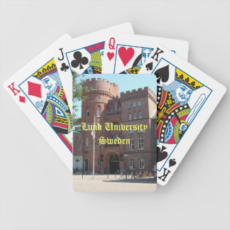 Lund University Castle Bicycle Playing Cards