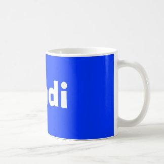 lundi coffee mug