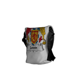 Lundin Family Crest Courier Bag