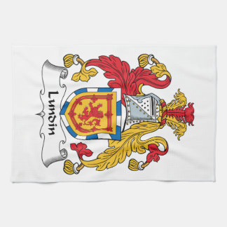 Lundin Family Crest Hand Towel