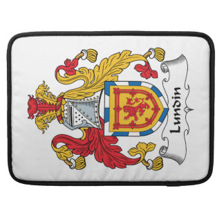 Lundin Family Crest Sleeve For MacBooks