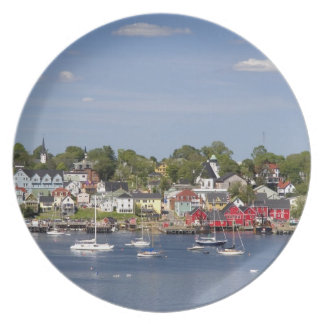Lunenberg, Nova Scotia, Canada. 2 Plate