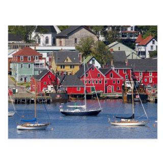 Lunenberg, Nova Scotia, Canada. 3 Postcard