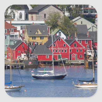 Lunenberg, Nova Scotia, Canada. 3 Square Sticker