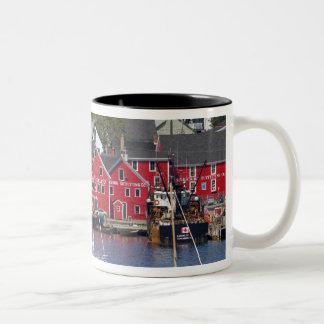 Lunenberg, Nova Scotia, Canada. 3 Two-Tone Coffee Mug
