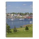 Lunenberg, Nova Scotia, Canada. Spiral Notebook