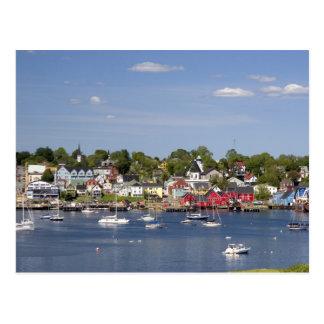 Lunenberg, Nueva Escocia, Canadá. 2 Tarjeta Postal