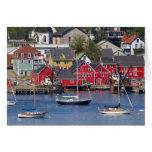 Lunenberg, Nueva Escocia, Canadá. 3 Felicitación