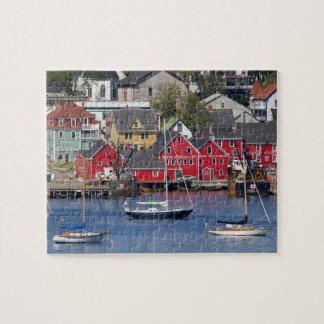 Lunenberg, Nueva Escocia, Canadá. 3 Puzzle Con Fotos