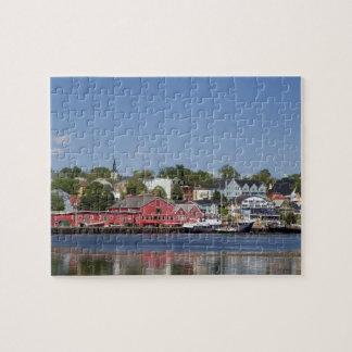 Lunenberg, Nueva Escocia, Canadá. 4 Puzzle Con Fotos