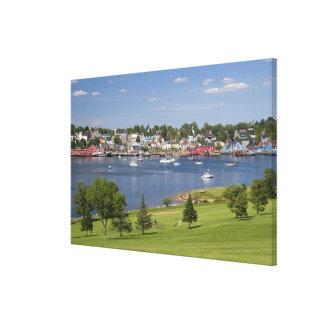 Lunenberg, Nueva Escocia, Canadá Lienzo Envuelto Para Galerias