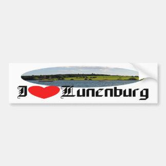 Lunenburg Harbour Bumper Sticker