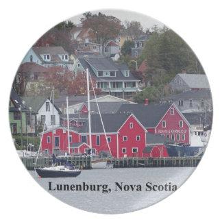 Lunenburg Nova Scotia Plate