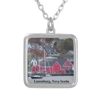 Lunenburg Nova Scotia Silver Plated Necklace