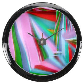 Lunes colorido C Reloj Acuario