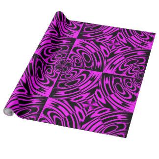 Lunes rosado papel de regalo
