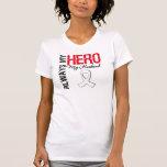 Lung & Bone Cancer - Always My Hero My Husband T Shirts